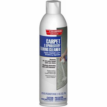 Champion 5148 Sprayon Carpet and Upholstery Foaming Cleaner, 18 oz Aerosol (Pack of 12)