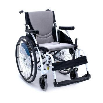Karman Healthcare S-Ergo Alpine White just 25 lbs Ultralight White Wheelchair, 18