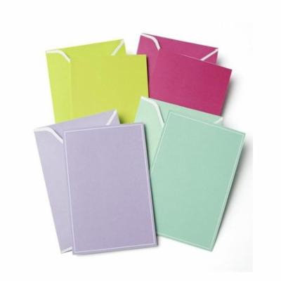 Multicolored Blank Note Cards