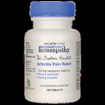 MN HOMEOPATHIC ARTHRITIS PAIN REL 100TAB