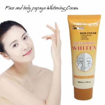 50G Whitening Cream Natural Papaya Essence Exfoliating Body Care Cream