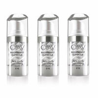 Olay Regenerist Luminous Dark Circle Correcting Swirl Eye Serum, 15ml (0.5 Fl Oz) (Wholesale Pack) (Pack of 3) + Beyond BodiHeat Patch, 1 Ct