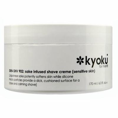4 Pack - Kyoku Sake Infused Shaving Cream For Sensitive Skin for Men 6 oz