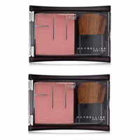 Maybelline Fit Me! Blush, #302 Deep Rose (Pack of 2) + Beyond BodiHeat Patch, 1 Ct