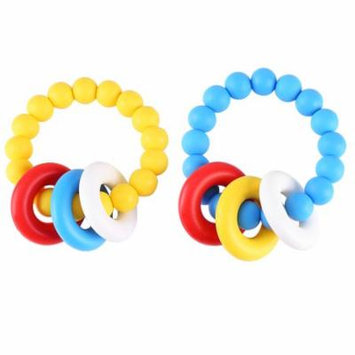 Keenso Silicone Teether,Lovely Baby Silicone Pacifier Clip Holder Teether Shower Gift,Teether Tool