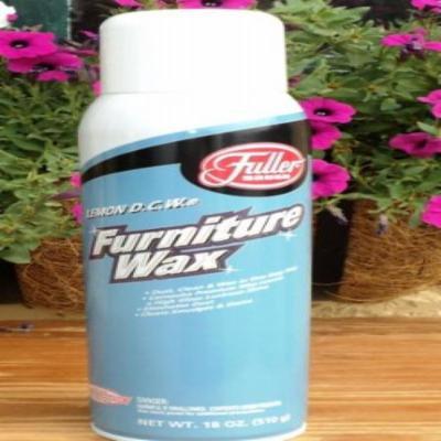 Fuller Brush Lemon DCW Furniture Wax - 18 oz