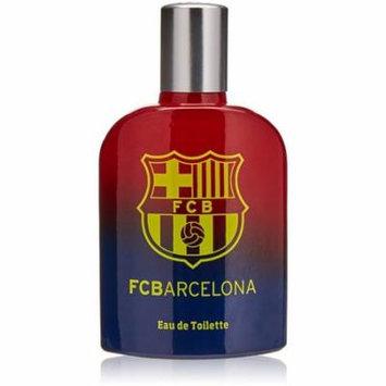3 Pack - FC Barcelona Eau De Toilette Spray For Men 3.4 oz