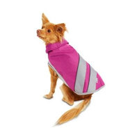 Good2Go Pink and Gray Sports Dog Jacket~Large~