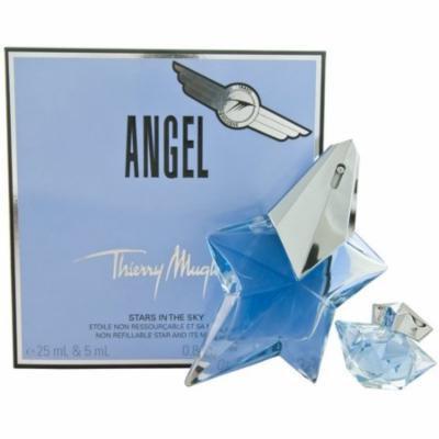 6 Pack - Thierry Mugler Angel Eau De Parfum Spray & Eau De Parfum Mini For Women 2 ea