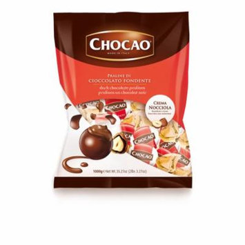 Vergani, Italian Dark Chocolate Pralines w/ Hazelnut Cream (1.250 Lbs)