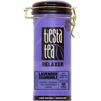 Tiesta Tea Relaxer, Lavender Chamomile, Loose Leaf Herbal Tea Blend, Caffeine Free, 2 Ounce Tin