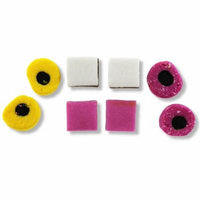 Gustaf, All Natural English Licorice AllSorts Made By Taveners (2 Lbs)