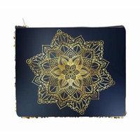 Gold Mandala Print - Double Sided 6.5