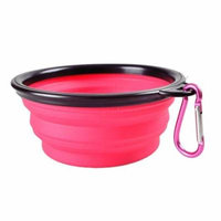 Generic Hot Sale Pet Products Silicone Bowl Pet Folding Dog Bowls For Food the Dog Drink
