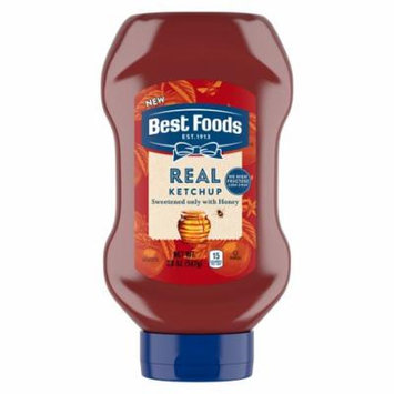 Best Foods Real Ketchup Sweetened Only with Honey