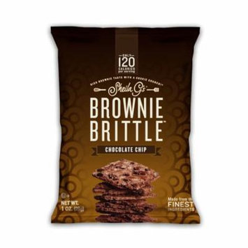 Sheila G's Brownie Brittle Chocolate Chip Cookie Snack Thins, 6/1oz multipack