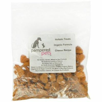Pampered Pets Holistic All Natural Cheese Recipe Dog Treats, 4-Ounce