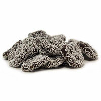 Gourmet Dark Chocolate Covered Pretzels with White Nonpareils by Its Delish (5 lbs)
