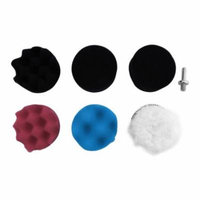Car Sponges Cleaning Polishing Buffing Waxing Pads Set Automobile Car Beauty Car-styling Wheel Kit With Drill Adapter
