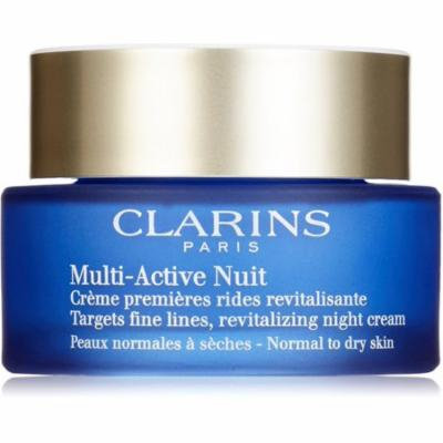 6 Pack - Clarins Multi-Active Normal To Dry Skin Night Cream 1.7 oz