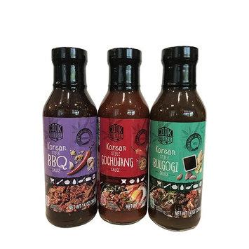 Korean Style BBQ Sauce, Gochujang Sauce & Bulgogi Sauce