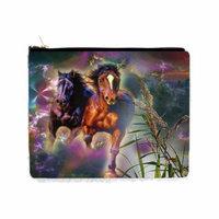 Running Horses Fantasy - 2 Sided 6.5