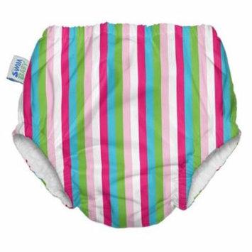 My Swim Baby Swim Diaper, Seaside Stripes, Small