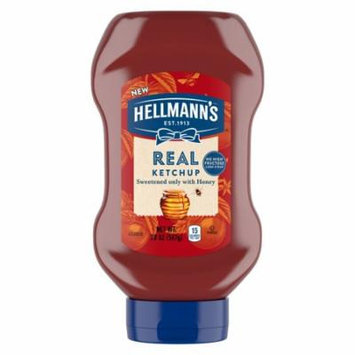 Hellmann's Real Ketchup Sweetened Only with Honey 20 oz