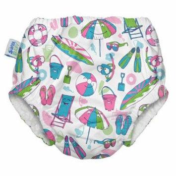 My Swim Baby Swim Diaper, Salty Toes, Medium