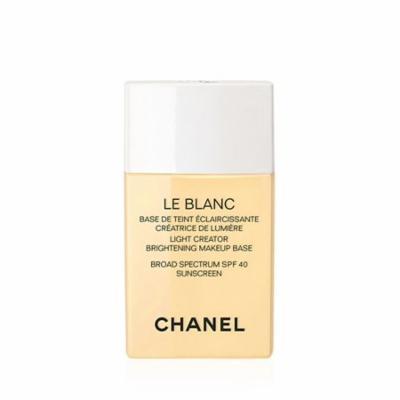 CHANEL LE BLANC Light Creator Brightening Makeup Base Broad Spectrum SPF 40 Sunscreen Mimosa