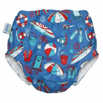 My Swim Baby Swim Diaper, Beach Life, Small