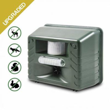 Aspectek - Yard Sentinel STROBE - Ultrasonic Animal Pest Repeller with Motion Detector, Strobe & New Sonic harassment & Predator Sound