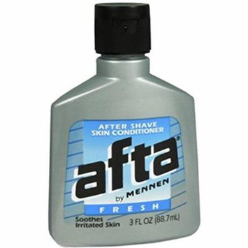 Mennen Afta After Shave Skin Conditioner, Fresh, 3 Ounce