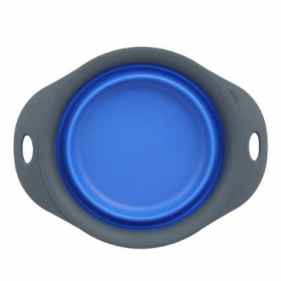 Dexas Popware for Pets Collapsible Dog Bowl Blue 3 Cup