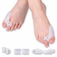 TMISHION 8 Pieces Gel Toe Separator Bunion Splint Corrector Spacer Hallux Valgus Toe Sleeve Protector