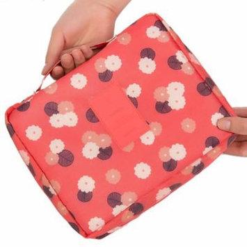 Mosunx Floral Nylon Zipper New Women Makeup bag Cosmetic bag Case Make Up Organizer B