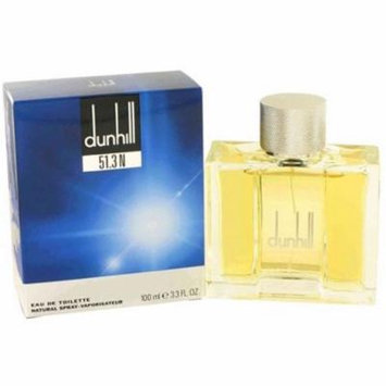 2 Pack - 51.3 N By Alfred Dunhill Eau De Toilette Spray for Men 3.3 oz