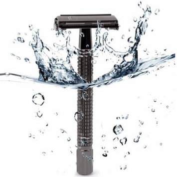 WEISHI Long Handle Version Butterfly Open Double Edge Safety Razor