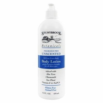 Body Lotion Unscented - 16 fl. oz. by Stonybrook Botanicals (pack of 1)