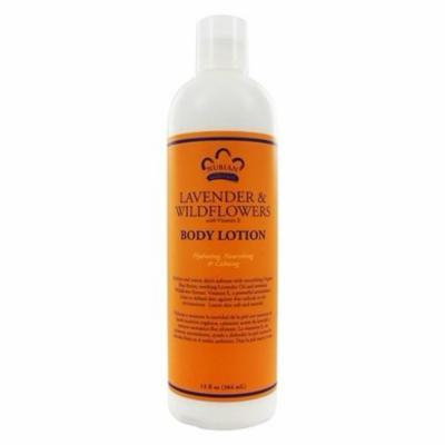 Lotion Lavender & Wildflowers - 13 fl. oz. by Nubian Heritage (pack of 12)