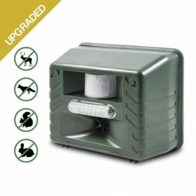 Ultrasonic Animal Repeller, Aspectek Outdoor Animal Repellent Motion Activated with Strobe LED Light for Rodents, Deer, Cats, Dogs, Foxes, Mice, Birds, Skunks, Etc.