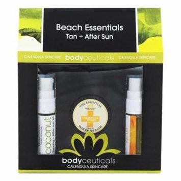 Beach Essentials Tan + After Sun Calendula + Spearmint - 3 Piece(s) by Bodyceuticals (pack of 1)