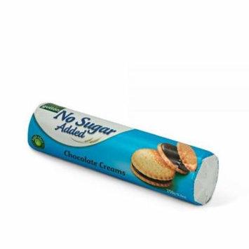 Gullon Sandwich Cookie Chocolate Cream, NO Sugar Added ‑ 8.8 oz 250g (Pack of 3)