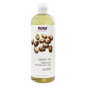 Castor Oil - 16 fl. oz. by NOW Foods (pack of 3)