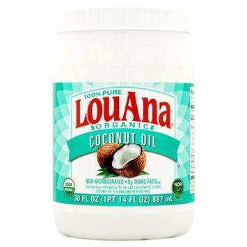 LouAna® 100% Pure Organic Coconut Oil 30 fl. oz. Jar