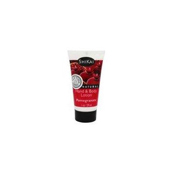 Hand & Body Lotion Pomegranate - 1 fl. oz. by Shikai (pack of 4)