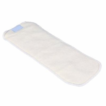 Keenso 1PC 4Layers Bamboo Fiber Adult Incontinence Cloth Nappy Liner Diaper Insert Pad, Diaper Pad, Diaper Insert