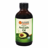 Organic Avocado Oil - 4 fl. oz. by Inesscents Aromatic Botanicals (pack of 4)