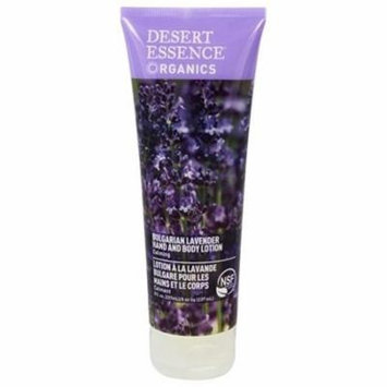 Hand and Body Lotion Bulgarian Lavender - 8 fl. oz. by Desert Essence (pack of 6)