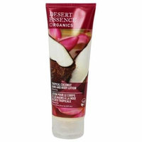 Organics Hand And Body Lotion Tropical Coconut - 8 fl. oz. by Desert Essence (pack of 4)